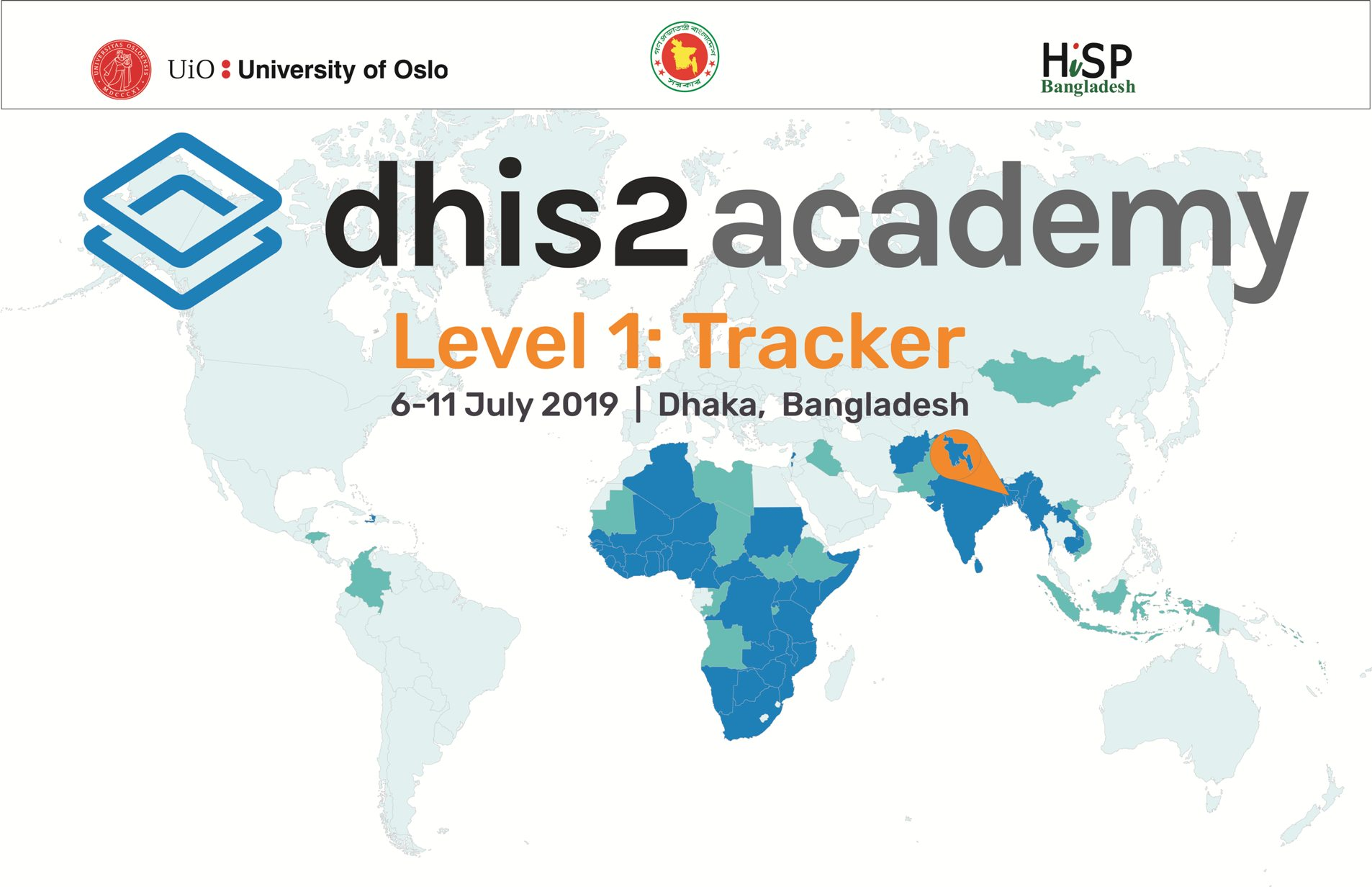 DHIS2 Level 1 Tracker 2019